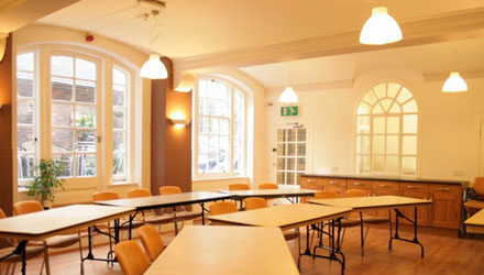 London Jeseus Centre teaching rooms